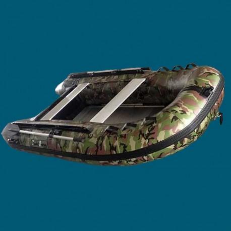 Bateau pneumatique Charles Oversea 3.0cc camouflage