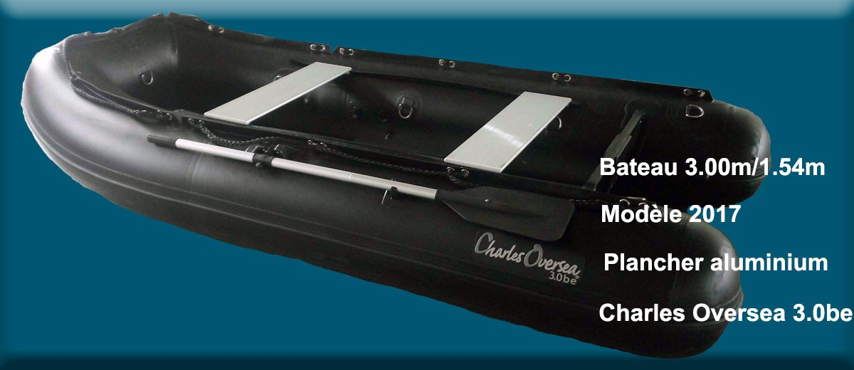 Bateau pneumatique Charles Oversea 3.0be